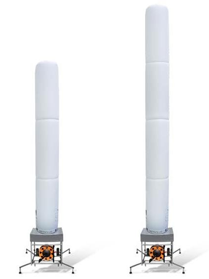 Torre de Iluminação Inflável