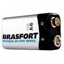 Pilha Brasfort Bateria 09V C/1p