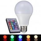 Lâmpada Led RGB Com Controle