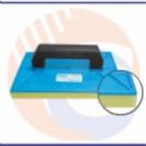 Desempenadeira De PVC 18x30 C/ Espuma Giraldi Azul