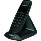 Telefone sem Fio Intelbras TS10 com ID 2,4ghz Preto