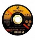 Disco Corte Aço Inox 4.1/2 Pegatec (25 PÇS)