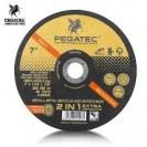 Disco Corte Aço Inox 7 Pegatec (25 PÇS)