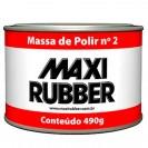 Massa Polir Max Rubber Nº2 Branca