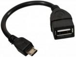 Cabo USB Fêmea x V8