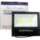 Refletor LED 100W Real Ilumimax Preto