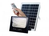 Refletor LED Solar 100W C/ Placa e Controle