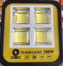 Refletor Led Cob 200W Real