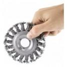 Escova Aço Circular Torcido FR150 Mota