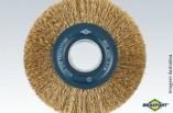 Escova Aço Circular 6x3/4 A/Laton. 7247 Brasfort