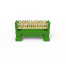 Barramento Neutro Din Verde 7 Furos Enerbras